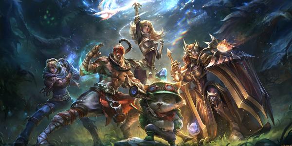 RU server in the game League of Legends