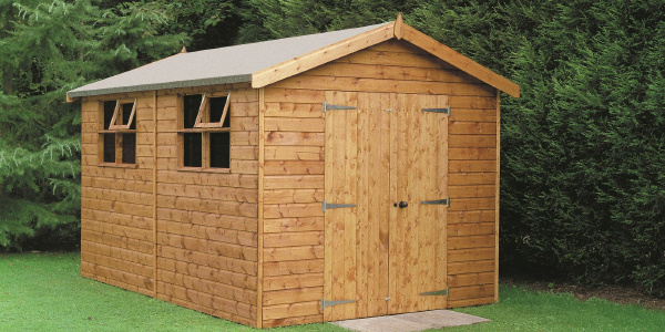 Regulation to build a garden shed